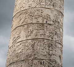 Trajan's Column detail (Mr. History) Tags: rome roman romanempire dacia battle sculpture column trajan army