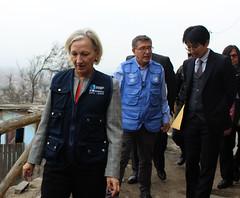 PER: Visita de la Directora Adjunta de OPS a Comas para conocer avances del Proyecto OPS/KOICA para disminuir la tuberculosis en apoyo a los gobiernos locales (Pan American Health Organization PAHO) Tags: koica ops tuberculosis comas