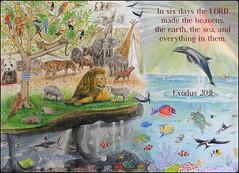 Exodus 20:11 (joshtinpowers) Tags: exodus bible scripture