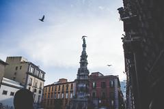 (lu) Tags: napoli naples obelisque street urban sky