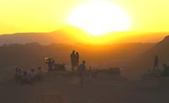 Celebrating sunset at Valle de la Luna, Atacama Desert (nick taz) Tags: valledelaluna atacama chile sunset party coyoterock dark celebrate dusk