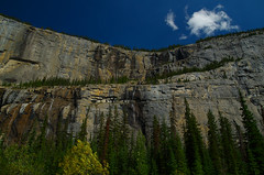 Steps (Kristian Francke) Tags: rocky mountains banff canada pentax tamron mountain cliff tree trees forest plant plants green grey blue