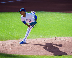 Marcus Stroman and His Shadow (b.m.a.n.) Tags: toronto shadows pitcher marcusstroman pitching torontobluejays nikond610 sports rogerscenter ontario canada ca