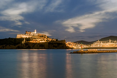 Eivissa blava (Porschista) Tags: eivissa ibiza balears port puerto ocaso sunset