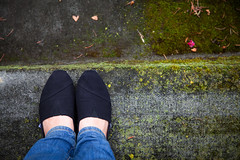 "Day 172: ""TOMS"" (FallingLeavesPhotography) Tags: africa woman canada black feet girl comfortable happy foot shoe shoes edmonton steps july step alberta 365 toms comfort debating 172 2012 day172 366 tomsshoes fallingleavesphotography"