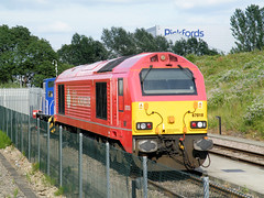 67018 (R~P~M) Tags: uk greatbritain england london train diesel unitedkingdom railway depot locomotive 67 wembley chilternrailways dbschenker dbarriva