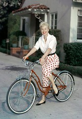 Doris Day (sweetvintagegal) Tags: bike vintage dorisday