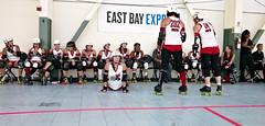 kansas city cobra (nocklebeast) Tags: sports action rollerderby rollergirls richmond kansascity skates rollerwarriors bayareaderbygirls badg cranewaypavilion leicasummilux24mmf14asph