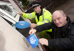 Stopping Burglary Ballooning in Middleton (Greater Manchester Police) Tags: uk england manchester police openwindow theft burglary britishpolice greatermanchester whyamihere crimeprevention ukpolice greatermanchesterpolice crimereduction rochdalepolice unitedkingdompolice middletonpolice uklawenforcement policeinrochdale policeuseofballoons policeputtingballoonsthroughopenwindows policeantiburglarycampaign insecurebuilding policeinmiddleton crimepreventioninrochdale crimepreventioninmiddleton