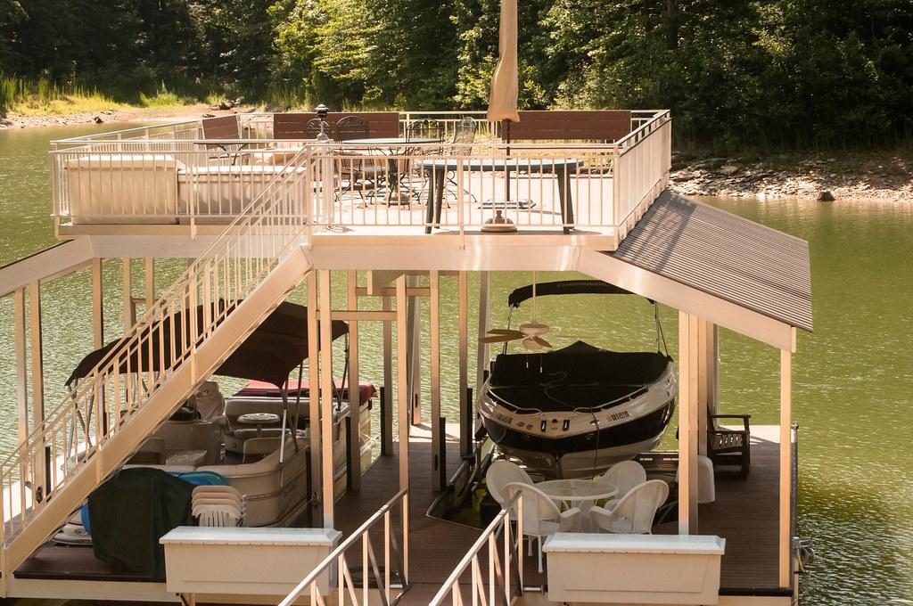 Aluminum Cottage Dock Installation  YouTube