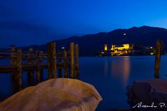 Lago D'Orta (Alex4988) Tags: lake night canon landscape lago island ship peroni paesaggio 1022 isola alessandro notturno orta lagodorta sangiulio 550d sgiulio flickraward flickraward5 flickrawardgallery flickrtravelaward alex4988 alessandroperoni