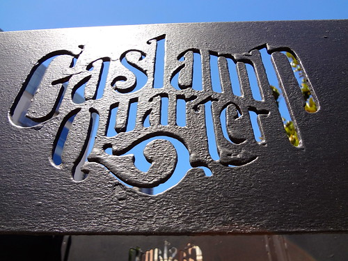 Gaslamp Quarter sign 2