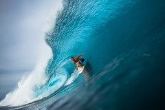 Taj Burrow (SARA LEE) Tags: fiji surf offshore barrel shortboard cloudbreak tavarua sarahlee tajburrow volcomfijipro