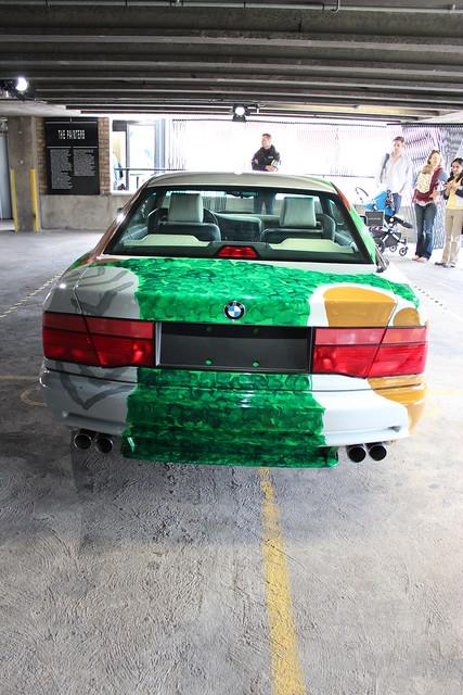 david art car by bmw 1995 hockney csi 850