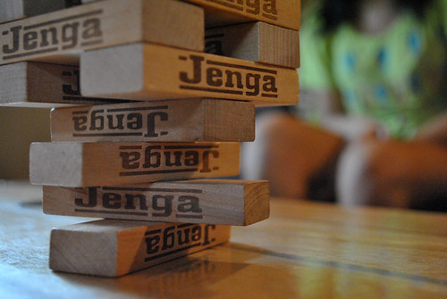 Jenga! by Ashley MacKinnon, on Flickr