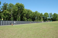 Vietnam Memorial - The  Traveling  Wall (dennieorson) Tags: ny mexico exhibit replica tribute vietnammemorial vietnamwar deaths travelingwall scenicave russellmarsden veteransmemorialfield vfwpost369 namesinscribed wmshoup
