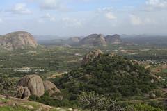 Ramanagaram Valley (Scalino) Tags: india green temple view hill hills valley karnataka sholay ramanagaram cheesenaan