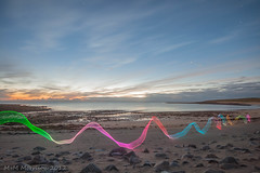 Sunset Ribbon (M+M Morrison) Tags: longexposure light lightpainting canon painting long exposure paint angle wide sigma led mm morrison 1020 redsnapper 500d lightpaint v24 canon500d lenser lenserv24 mmmorrison