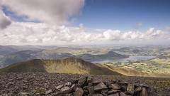 Bassenthwaite lake from Skiddow Summit Lake District (Giuseppe Baldan) Tags: