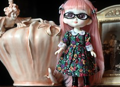TAMASHII CHAN (Domenica Beyer) Tags: china pink japan canon vintage doll handmade stock chan limitededition obake porcelana odeco canoneos60d
