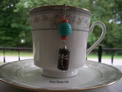 dragonfly tea (Prim*Rose*Hill) Tags: tea infuser teaball