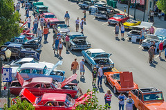 Many came to Sycamore to see the car show