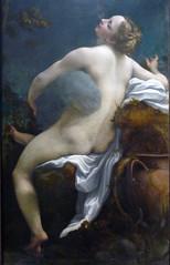 Correggio, Jupiter and Io, detail with figures