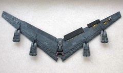 B-52 Work In Progress -wing and engine nacelles (Mad physicist) Tags: lego workinprogress wip bomber b52 stratofortress