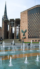 Cathedral Church of St Michael's Coventry (ken_davis) Tags: coventry basilspence warwickshire coventrycathedral jacobepstein sirbasilspence panasonicgf1 cathedralchurchofstmichaelscoventry