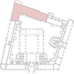 Location of proposed extension