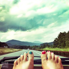 8.5.2012 (Jessica Brookes-Parkhill) Tags: summer sky mountains feet drive highway toes driving roadtrip summertime passenger nailpolish iphone filtered ontheroadagain flickup fromwhereisit mobilephotography phoneography fromwhereistand iphone4 iphonephotography iphoneedited psexpress jessica365 iphoneography picfx jessicabrookesparkhillphotography snapseed
