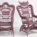 119. Two Wicker Platform Rockers