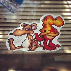 T-MONEY (billy craven) Tags: streetart chicago graffiti sticker bode handstyles tmoney slaptag uploaded:by=instagram