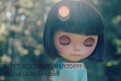 Happy Birthday my darling friend <3