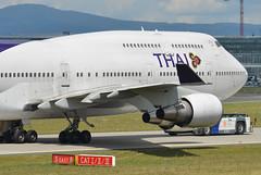 Thai Airways Boeing 747-4D7 HS-TGX (EK056) Tags: airport frankfurt thai boeing airways 7474d7 hstgx