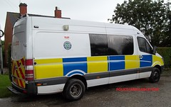 Staffordshire police/ mercedes sprinter/ personel carrier/ public order van/ VX58 CVN. (policeambulancefire(2)) Tags: blue two dog english ford public car lights mercedes pier support focus call order estate rear police cctv off grill led motorbike yelp wig vehicle leds british hilo roads van irv emergency reds incident staffordshire department tone section k9 vauxhall response unit personel 999 sirens wail bullhorn fend sprinter strobes wags airhorn carriers lightbar policing policee movano welen repaterrs incdient