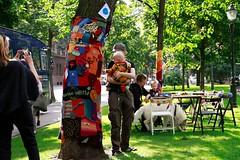 Knit'n'Tag 2012 Making of (Helsinki street art office Supafly) Tags: color art graffiti helsinki colorful knit spray knitted hel happi street art ruttopuisto katutaide supafly nuoret kaupunkitaide neulegraffiti nuorisoasiainkeskus