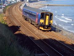 153329 IN DAWLISH 8,2012 (Dave 3024) Tags: class 153 dawlish