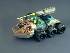 -Large Mobile Laser Cutter- (=DoNe=) Tags: rock mobile by viktor lego large laser custom done cutter raiders