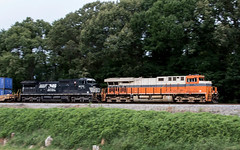 NS Train 22N (RailfanTerry) Tags: tuscumbia alabama unitedstates us