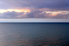 jastrzbia gra tranquility (kexi) Tags: sea balticsea jastrzebiagora evening sunset clouds horizon water quiet calm tranquility pomorze pomerania polska poland canon june 2015 reflection instantfave