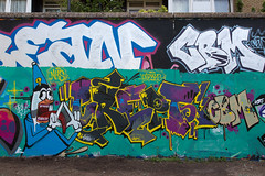 Crept CBM (SReed99342) Tags: london uk england graffiti trellicktower crept cbm