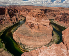Horseshoe Bend (Ivaj Aicrag) Tags: page arizona glen canyon dam horseshoe bend horseshoebend curvadelaherradura curva herradura ruta66 ruta 66 ruta 66 route route route66 landscape pano panorama panoramic panormica usa estados unidos united states travel on road viaje