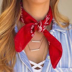 Bandana Neckscarf (scarfandbandana69) Tags: bandana bandanna scarf neckscarf neckerchief kerchief 2016trend 2016fashion