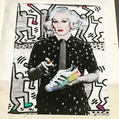 #dragqueen #warhol by #jamdevill #popart #gayicon #adidassuperstar #lgbt #keithharing #weartstreet #streetart (pourphilippemartin) Tags: dragqueen warhol jamdevill popart gayicon adidassuperstar lgbt keithharing weartstreet streetart