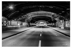 Tunnel Gottesweg (Onascht) Tags: cologne kln licht nrw nikond610 sigma50mm sommer strasse unterfhrung brcke lampe lights street