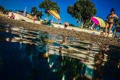 Saltwater sound (Melissa Maples) Tags: antalya turkey trkiye asia  apple iphone iphone6 cameraphone mediterranean sea water konyaaltbeach beach reflection summer