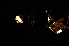 Smoke and mirrors. (_Azzurra) Tags: smoke mirror mirrors reflection reflecting reflex canon candle candles light lights night fun dinner girl sky romanticism romantic dark darkness black flam red fire color warmcolors warm colors colorf peace peaceful glass