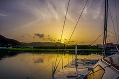 Sailors sunrise (Keegan - aka Boobie40) Tags: sailboats sailing antigua caribbean sunrise ocean d810 nikon