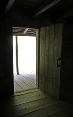 Open Door Policy (jrussell.1916) Tags: doorway door logcabin cabin wood history light illuminated rustic greatsmokymountainsnationalpark tennessee canonefs1755f28is